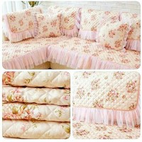 Cover Sofa Shabby Chic / Lace Alas Sofa 90x210