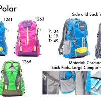 One Polar Tas Backpack Hiking Seri 12**