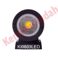 LAMPU DINDING KI0803LED OUTDOOR MINIMALIS LED BOHLAM PILAR HIAS PIJAR