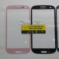 Samsung S3 Kaca LCD / Digitizer / Touchscreen / Gorilla Glass
