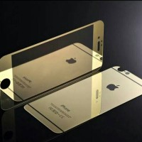 Tempered Glass Front Back Iphone 5/5s & iphone 6, FREE clip protector