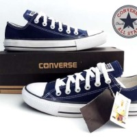 Sepatu Converse All Star Low Navy Made In Vietnam Original Murah# 179