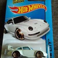 DIECAST HOTWHEELS PORSCHE 993 GT2 WHITE DOFF