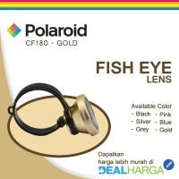 Jual Polaroid Normal Fish Eye Lens CF180 Gold - Lensa Handphone DealHarga Murah