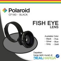 Jual Polaroid Normal Fish Eye Lens CF180 Hitam - Lensa Handphone DealHarga Murah