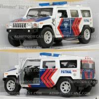 harga Miniatur Mobil Hummer H2 SUV Patwal PJR Polantas (Polisi Indonesia) Tokopedia.com