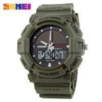 Jam Tangan LED Tenaga Surya Solar Power Sport Watch AD-1050E By SKMEI