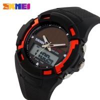 Jam Tangan LED Tenaga Surya Solar Power Sport Watch AD-1056E By SKMEI