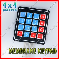4x4 flexible keypad membrane matrix key pad membran 4 x 4 arduino
