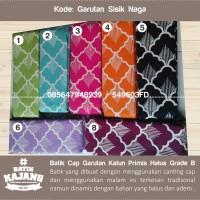 Batik Cap Garutan Motif Sisik Naga Batik Kajang