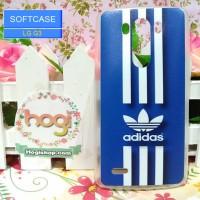 LG G3 - Softcase Custom Case Bening - Softclear Phone Case - Adidas