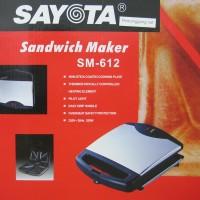 Sayota Sandwich Maker / Pemanggang Roti SM-612