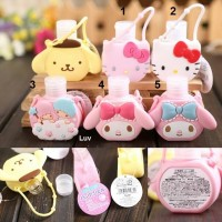Tempat hand sanitizer Hello Kitty - My Melody - Little Twin Star
