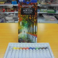 V-TEC Acrylic Colour Set VT-A8812/12 Colour