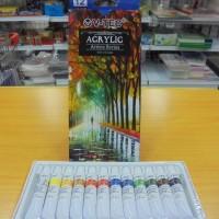 V-TEC Acrylic Colour Set VT-A8812/12 Colour