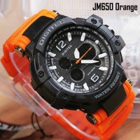 Jam tangan Digitec DT-2078 Original Dual Time