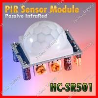 HC-SR501 Sensor Deteksi Gerak Keberadaan Manusia Motion PIR SR510