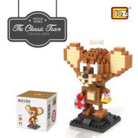 Loz Large Nanoblock Lego Jerry Tikus (Tom and Jerry)