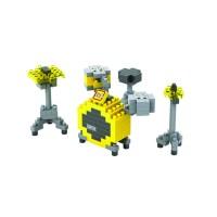 lego nano loz 9188 medium drum set