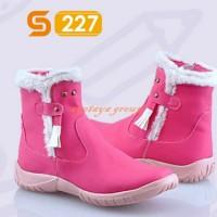 harga Sepatu Boots Pink Anak Wanita / Sepatu Pesta Anak Cewe Dk-e.257 Tokopedia.com