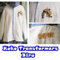 Baju koko sarung anak TK size XS (2-3 thn) karakter CARS MERAH