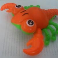 Mainan Kepiting Tarik Lucu