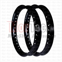 Velg - Pelek Rim - Ring - Jari jari TDR Tipe U 14-140 & 14-160 Hitam