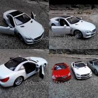 harga diecast miniatur mobil mercedes benz putih sl500 tokomoro jual Tokopedia.com