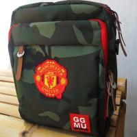 Tas Bola Selempang Manchester United Army GGMU Sling Bag MU Keren