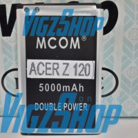 Baterai Battery Acer Liquid Z120 5000mAh MCOM Double Power
