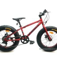 harga Sepeda Wimcycle Mtb 20 Fatman Kids 7 Speed Tokopedia.com