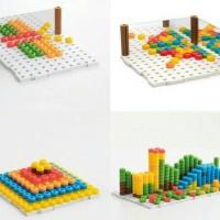 Magic Color Beans / Beans set / Mainan Edukatif / Edukasi Kreatifitas