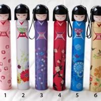 Payung model Geisha Jepang dalam botol