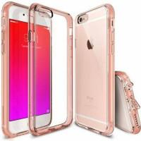 Casing Rearth Ringke Fusion Rose Gold untuk iPhone 6S Plus Ori