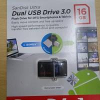 SanDisk 16GB Ultra Dual USB Drive 3.0 Original