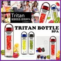 Jual Infused Bottle Botol Minum Tritan lemon citrus juicer tea drink maker Murah