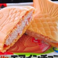 harga Meito Pukupukutai Taiyaki - Air in Choco Wafer - Strawberry Tokopedia.com