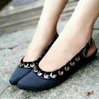 Sepatu Wedges - Mini wedges bloop 2cm