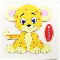 harga Puzzle Jigsaw Kayu 3d Mainan Edukasi Anak Balita Macan Tutul Pk-035 Tokopedia.com