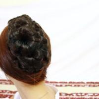 Hairclip  Sanggul Jepit Funbun Jamur / Hair Clip Fun Bun Cepol Korea