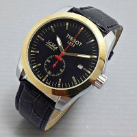 harga Jam Tangan Pria Tissot LaLocle Leather Black Kombinasi Automatic Tokopedia.com
