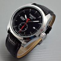 harga Jam Tangan Pria Tissot LaLocle Leather Black Silver Automatic Grosir Tokopedia.com