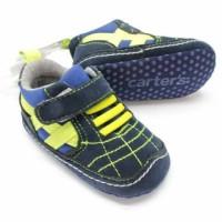harga Sepatu Prewalker Bayi Cowok Carter's Boot Hitam Garis Hijau Stabilo Tokopedia.com