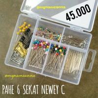 harga Pahe Jarum Pentul & Peniti Premium Sekat 6 Newey C Tokopedia.com