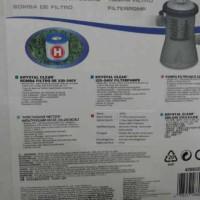 pompa filter merk intex bs untk kolam steel pro, easy set dan fast set