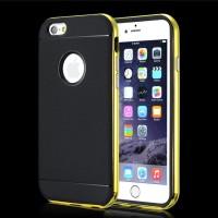 "Spigen Neo Hybrid Metal Frame Case Iphone 6 4.7"" - Kuning Metalik"