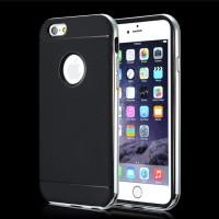 "Spigen Neo Hybrid Metal Frame Case Iphone 6 4.7"" - Silver Metalik"