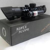 Rifle Scope M9 shockproof 3-10x42E