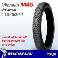 Michelin 110/80-14 M45 Ban Motor Tubeless Motif Kotak