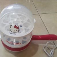 Steamer Putih Merah - Hello Kitty